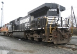 NS 9028 @ Delta Yard